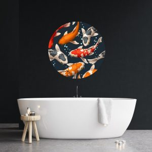 Wall art Koi